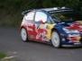 Rallye-WM in den Burgener Weinbergen